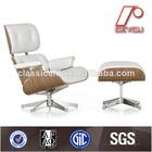 Moderno e confortável cadeira eames lounge du-388c