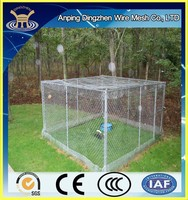 2015 Chain Link Large Dog Cage For Sale
