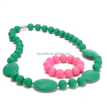 Top grade unique silicone chewing for necklace