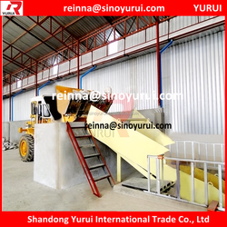 Low production cost gypsum machinery