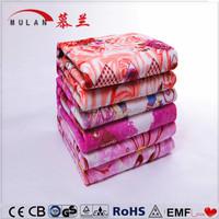 Customized China wholesale electric blanket