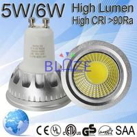 good spot light 5w gu10 led long neck lamp 6w