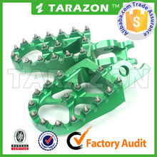 Fit for KXF450 china hot sale cnc aluminum alloy footrests