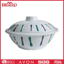 2015 New products chinese bowl with lid plastic unique melamine soup bowls