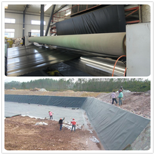 HDPE Waterproof Geomembrane For Pond Liner