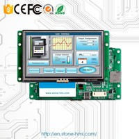 10.1 inch intelligent lcd display panel with RS485 convert