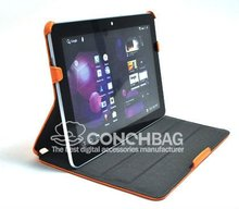 Hot-pressing Leather case for samsung Galaxy Tab 10.1 P7500
