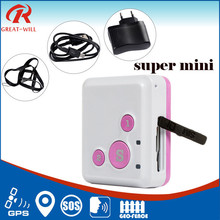 Mini Remote Calling kid GPS Locator via GPRS /GSM tracking People Oldman/kids