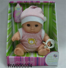 Moda inovador 16 polegada silicone renascer baby doll
