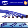 Extruded and reinforced silicone heater hose