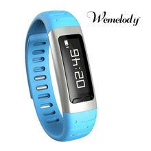 Newest bluetooth mtk smart pedometer,health sport bluetooth bracelet manual