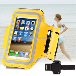 Luxury Waterproof PU Leather Belt Wrist Strap Arm Band phone Bag For Iphone 5/5S