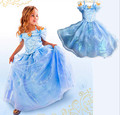 Ms50384a Cinderella dress girls, vestido de fiesta