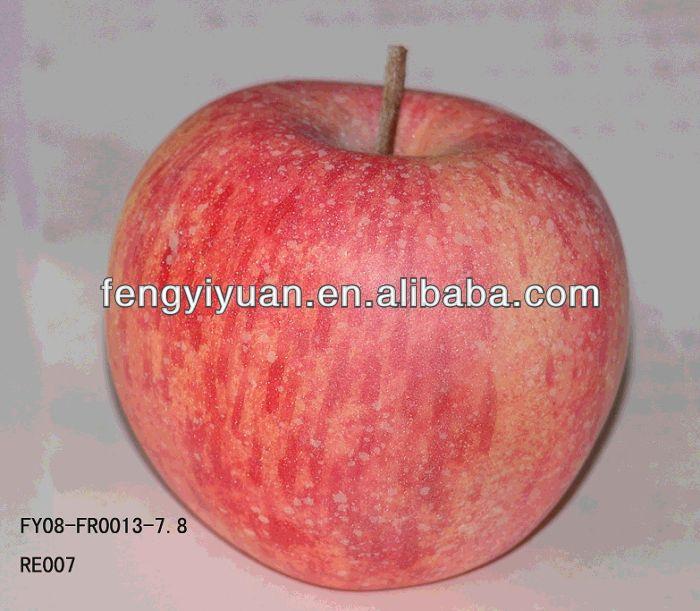 Simulation artificial beautiful apple fruit decoration for Apple fruit decoration