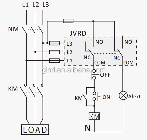 ginri jvrd phase rotation relay