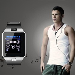The popular DZ09 touch screen android wifi watch mobile phone