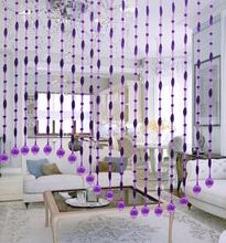 2015 New Decorative crystal bead curtain for decoration,crystal wood bead door curtain