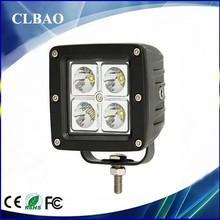 portable led 12v 24v 16w driving work lights ip67,best selling car accessoriesfor boats,offroad,atv,auto,truck