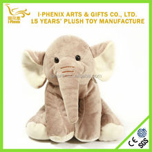 high quality hot selling cute stuffed plush elephant toy baby doll