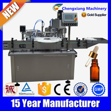 Trade assurance full automatic cigarette filler,10ml liquid filling machine,hot filling machine