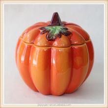 Ceramic Crafts Halloween Pumpkin Decoration