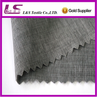 (30D+40D)*(30D+40D) nylon polyester woven fabric 56% nylon 44% polyester waterproof fabric with back cire