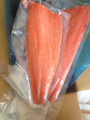 냉동 생선 필레 야생 알래스카 미끼 연어 수출