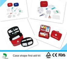 EVA/Nylon material case shape emergency first aid kit case box
