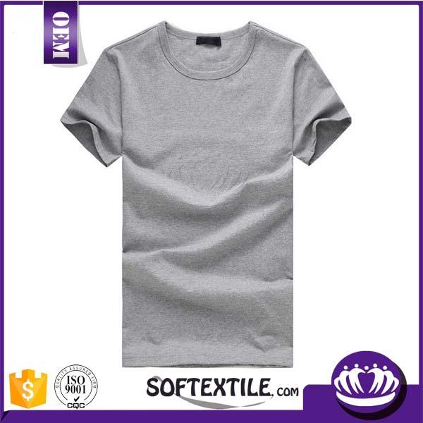 Top quality ring spun cotton t shirt plain t shirts bulk for Bulk quality t shirts