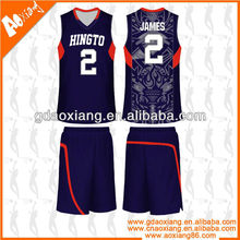 Hot selling Cool-max Basketball practice shirt/short
