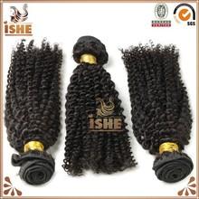 No chemical processed full cuticle kinky curly human hair india ,brazilian, peruvian hair