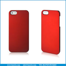 rubberized phone case for iphone 5 case