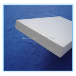 Green 2016 hot sale Rigid pvc foam sheet for wardrobes and cabinets