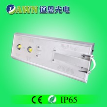 50W Sunpower COB long lifespan integrated all in one solar led street light Single Led Light Bead