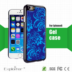 High quality epoxy gel resin crystal clear mobile phone cover
