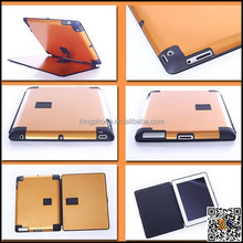 metal case cover for ipad 2/3/4,aluminum case for ipad,hard covers for ipad 4