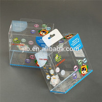 product print logo plastic packing box manufacturing