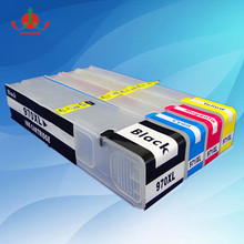 for hp 970xl refill for hp 970 chip ink cartridge for hp 970