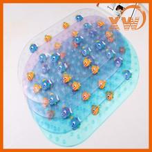 Beautiful Cute non slip Clownfish Childs pvc bath mat