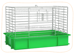 large space rabbit hutch/rabbit cages with tray for sale