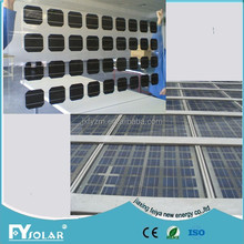 good BIPV solar system factory glass solar panel roof glass pv moduls solar cell in double glass