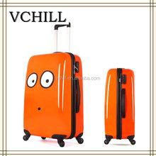 Equipaje de carcasa dura, ABS PC maleta para niños,buena calidad,barato precio