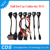 Professional TCS Diagnostic Full Set 8pcs TCS Car Cables OBD/OBDII Diagnostic Connector For Multi-Brand Cars