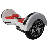 Two wheels self balancing electric scooter with LED light and Bluetooth speaker