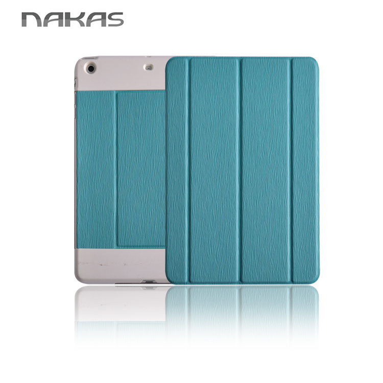 wallet style protecting pu leather cell phone case for ipad mini