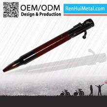 2015 China Modern custom logo wooden fountain pen
