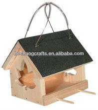 2015 small wood bird house, custom miniature wood pet house