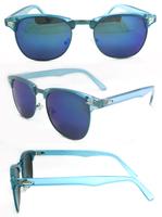 free sample wholesale custom logo round fashion sunglasses men