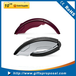 2015 Hot New Promotional Gifts 2.4G Wireless Mouse Folding/Foldable Computer Mouse Also Can Make Bluetooth USB Mouse