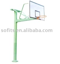"""Basketball In Ground Basketball System Basketball Stand with 60"""" Backboard Basketball Goals"""